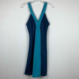 Patagonia | Blue Corrine Colorblock Dress
